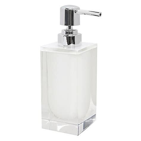 bed bath and beyond memphis memphis boutique lotion dispenser in white bed bath beyond