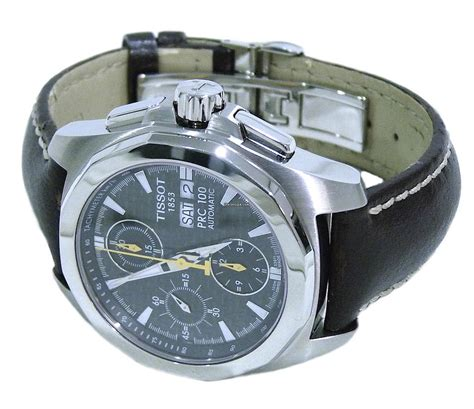 Tissot Prc 100 T0082171103100 tissot prc 100 automatic chronograph carbon fibre mens for 1 073 for sale from a