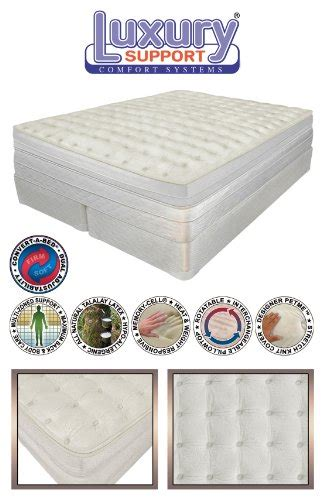 innomax 174 luxury support medallion adjustable sleep air bed mattress includes dual remotes with