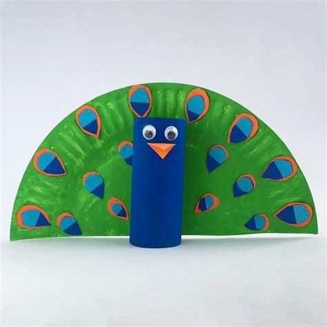 peacock craft ideas for toilet roll peacock kidscrafts kidsactivities