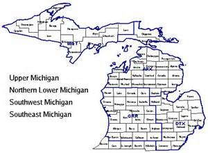 southeast zip code map southeast michigan weather