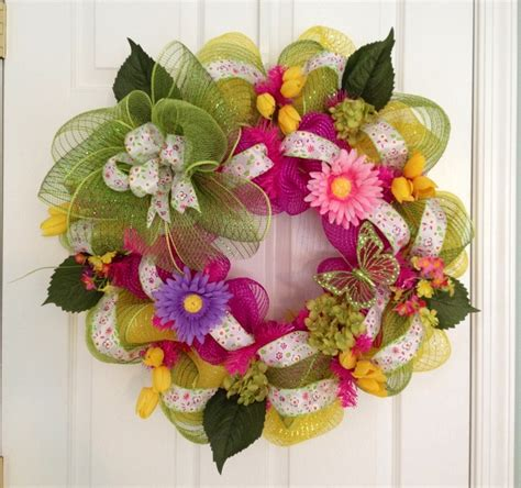 spring wreath ideas summer spring wreath ideas pinterest