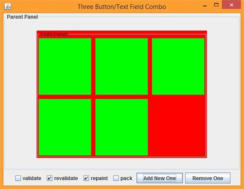 java layout fixed width java dynamic gridlayout with fixed size stack overflow