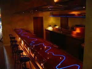 Bar Top Lights Fiber Optic Bar