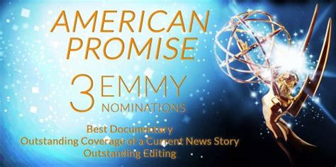 american promise film update american promise receives 3 emmy nominations rada