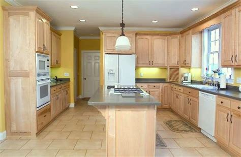 painting light maple cabinets white 5 fresh looks for natural wood kitchen cabinets 187 home