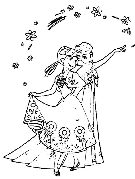 frozen fever coloring pages to print frozen fever colouring pages to print frozen feaver