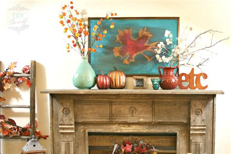 fall decorating ideas archives lombardo homes fall mantel archives diy show off diy decorating and