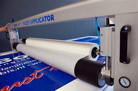 Table Application by Print Finishing Signs Display