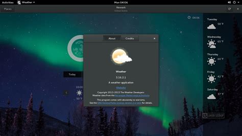 Linux Opensuse 42 Leap 64 Bit opensuse leap 42 1 gnome gnome weather linux scoop