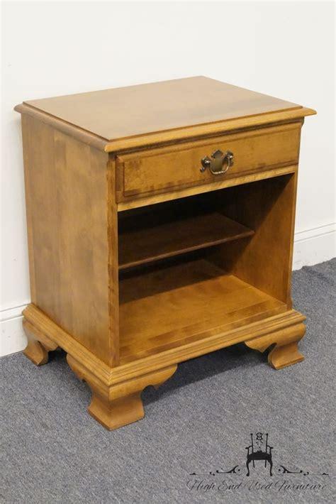 high end used furniture ethan allen heirloom nutmeg