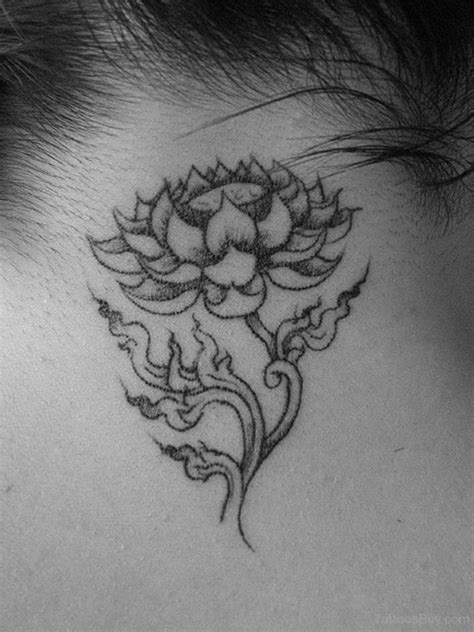 black and white lotus flower tattoo lotus tattoos designs pictures page 7