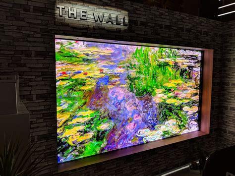 samsung  wall micro led modular   tv