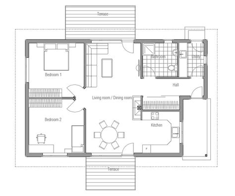small affordable house plans two bedroom small and affordable house plans floor plan