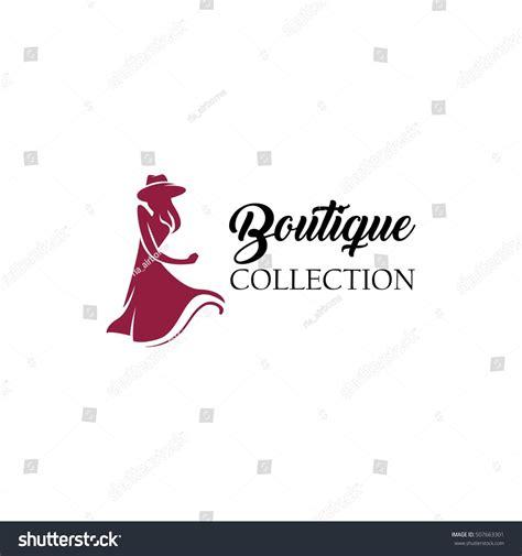 women fashion logo design template stock vector 507663301