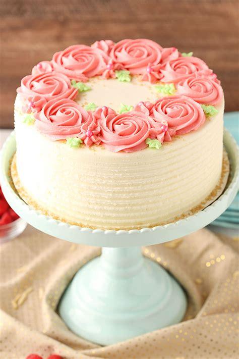 10 inch 3 layer cake raspberry almond layer cake and sugar