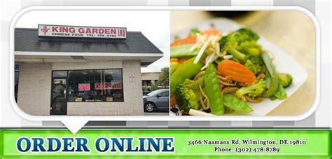 king garden restaurant order wilmington
