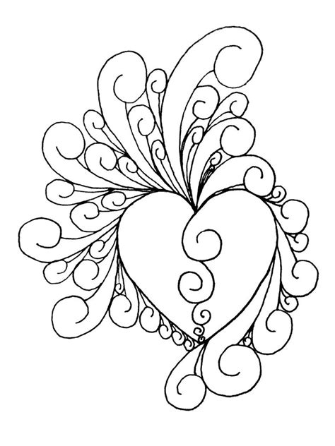 intricate valentine coloring pages desenhos de claves de sol az dibujos para colorear