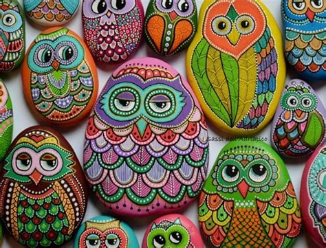 wonderful ideas  painting stones  pebbles