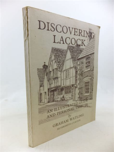 searching discovering godã s treasures books discovering lacock written by watling graham stock code