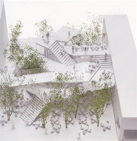 designboom sou fujimoto a network of staircases defines taiwan cafe by sou fujimoto