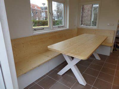 moderne eethoek met bank hoekbank met bergruimte en eettafel kitchen keuken