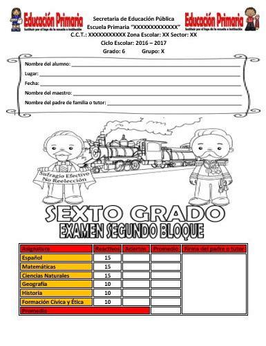 libro de 4 grado matematicas contestado ebookscenterorg examen del sexto grado del segundo bloque del ciclo