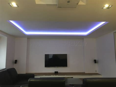 Led Eclairage Plafond by D 233 Coration En Ruban Led Et Fibre Optique Lumineuse