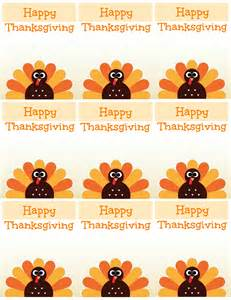 free printable thanksgiving place cards also great for cupcake toppers labels and more