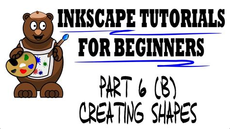 inkscape tutorial advertisement creating shapes inkscape tutorials for beginners part 6