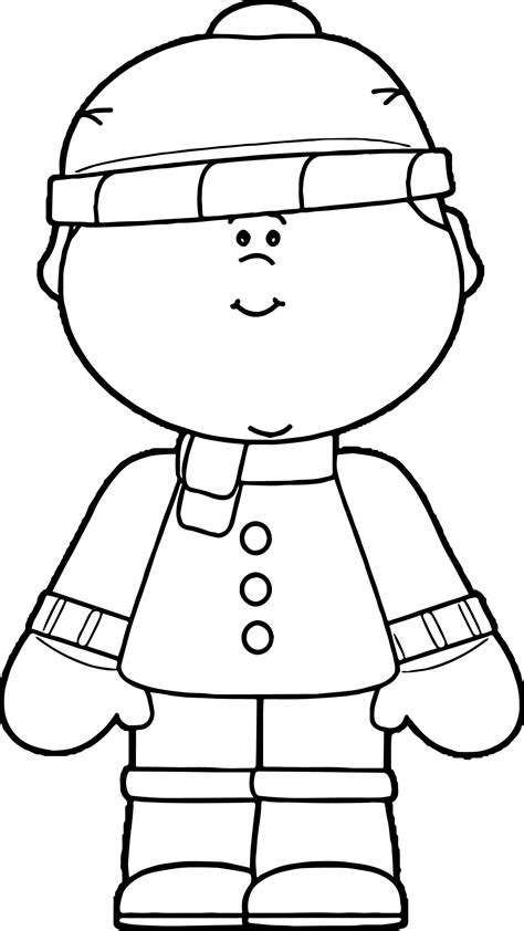 86 coloring pages for winter clothes download coloring