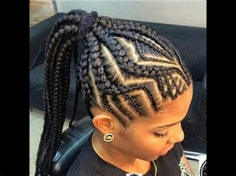 ghana braids hairstyles 2017 : awesome ghana braids for