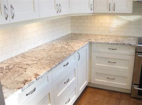 white granite and backsplash home design fireplace