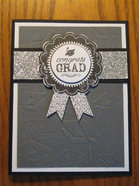 Graduation Handmade Cards - graduation handmade card award ribbon college high school