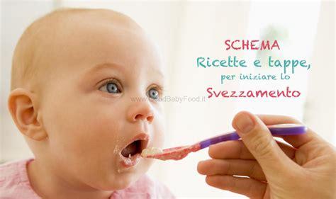 alimentazione neonato 9 mesi ricette schema svezzamento ricette porzioni e regole per fare le