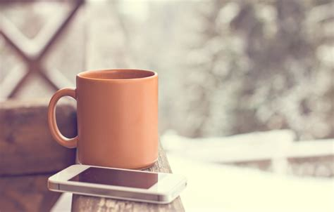 coffee wallpaper for smartphone wallpaper hot cup snow cup smartphone winter coffee