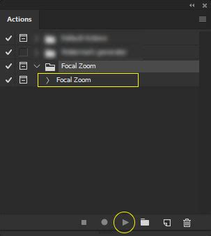 zoom pattern photoshop اکشن ایجاد افکت زوم در فتوشاپ focal zoom photoshop action