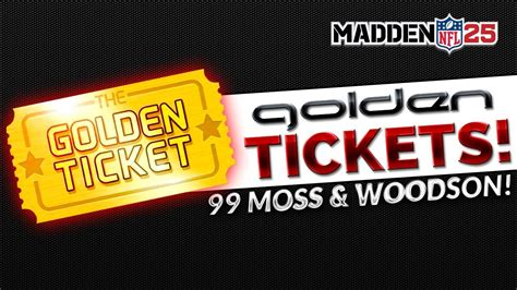 The Golden Ticket Andrew Gn Pulls Out The Showstoppers by Mut 25 Golden Tickets Madden 25 Ultimate Team Quot Mut