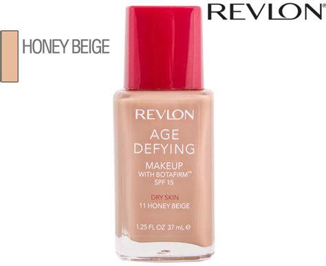 Bedak Revlon Age Defying revlon age defying makeup foundation honey beige 11 37ml great daily deals at australia s