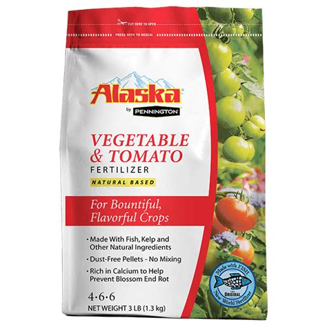 Alaska Vegetable Tomato Dry Fertilizer 4 6 6 By Best Garden Fertilizer Vegetables