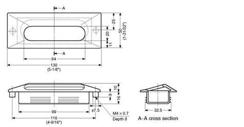 glass door utz recessed pulls zinc alloy recess pull utz series