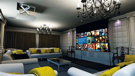 Dining Room Pictures For Walls by How To Build A Home Cinema Room Real Homes