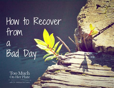 how many days it takes to recover from c section how to recover from a bad day