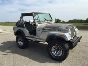 Jeep Cj7 Insulator Silver Alum 1979 jeep cj5 renegade silver anniversary for sale photos
