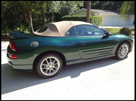 2001 mitsubishi eclipse spyder gt convertible