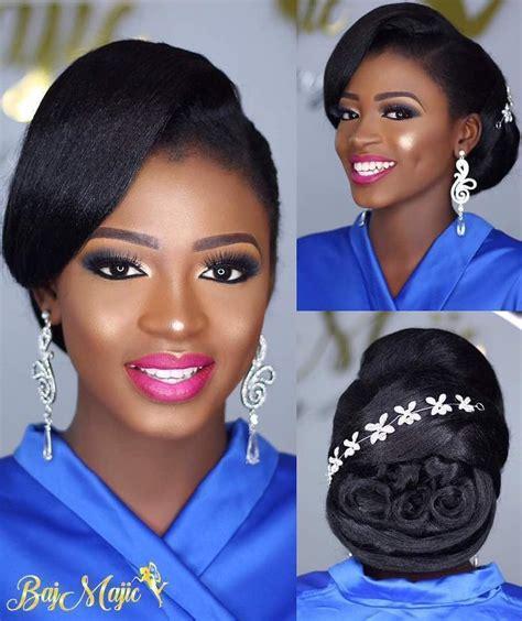 Modele Chignon Mariage Africain