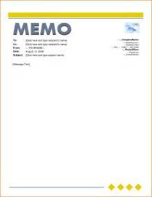 Microsoft Office Memo Template by Simple Memo Template