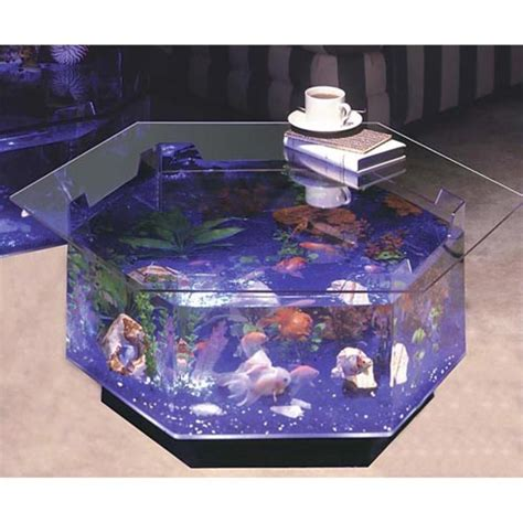 Aquarium Coffee Table 15 Unique Coffee Tables That Will Your Guests Saying Wow