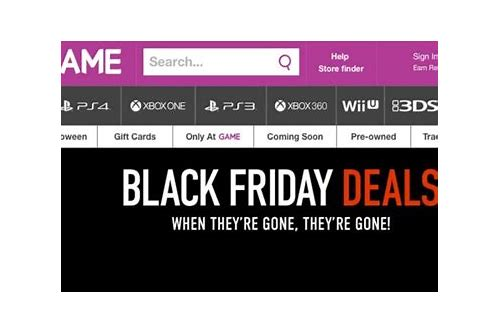 black friday mega deals uk