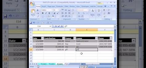 simple excel database template how to create a simple database in excel with a list or